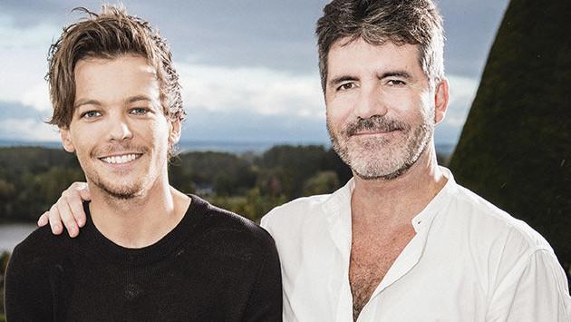 Primeras imágenes de Louis Tomlinson en 'The X Factor' con Simon Cowell