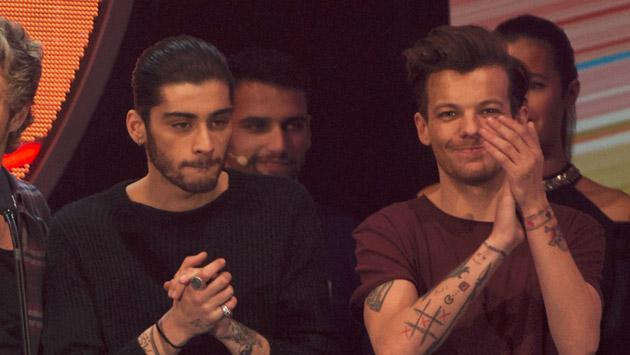 Louis Tomlinson de One Direction habla por primera vez de su rivalidad con Zayn Malik