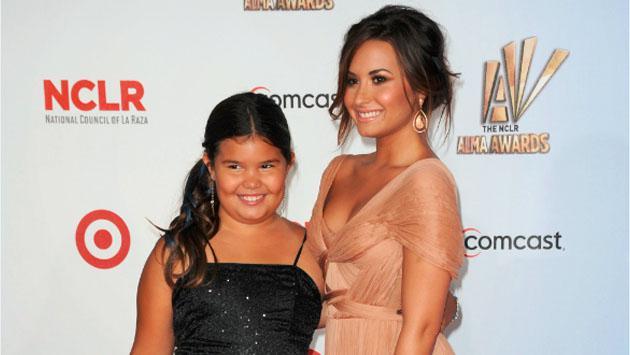 La hermana menor de Demi Lovato  ya es adolescente y sorprende en Instagram con sus fotos