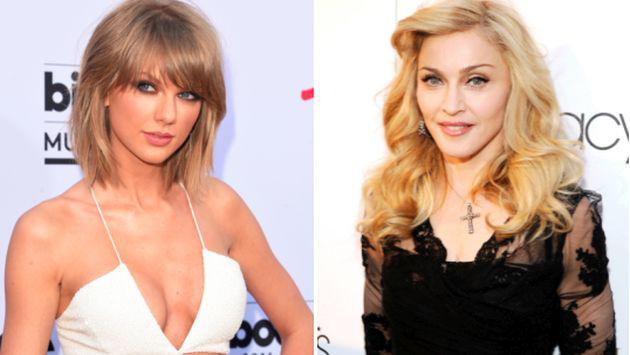 ¿Madonna quiere parecerse a Taylor Swift?
