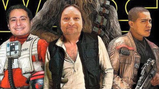 ¡Daniel Marquina, Gonzalo Torres y Papopa como personajes de Star Wars!