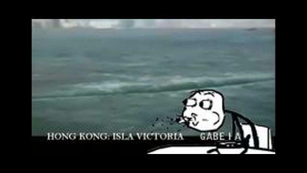 OMG! ¡Navegante captó cómo el mar se abrió en dos! [VIDEO]