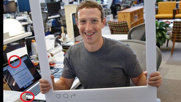 ¡No estás paranoico! Foto revela que hasta Mark Zuckerberg hace ESTO con la cámara de su laptop
