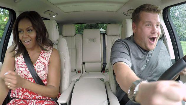 ¡Michelle Obama la rompió como Beyoncé en el 'Carpool Karaoke'! [VIDEO]