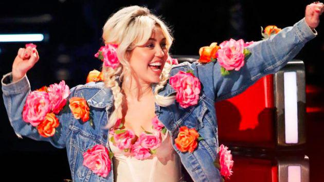 ¿Miley Cyrus no convenció como 'coach' en The Voice?