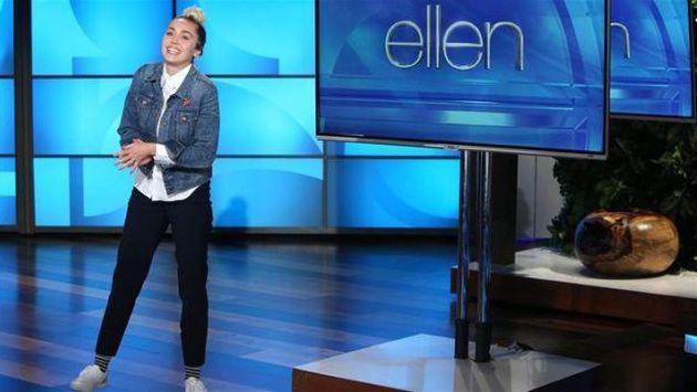 Esto fue lo que vivió Miley Cyrus al reemplazar a Ellen DeGeneres en su show [VIDEOS]