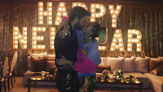 ¿Miley Cyrus y Liam Hemsworth se casaron en secreto en Año Nuevo?