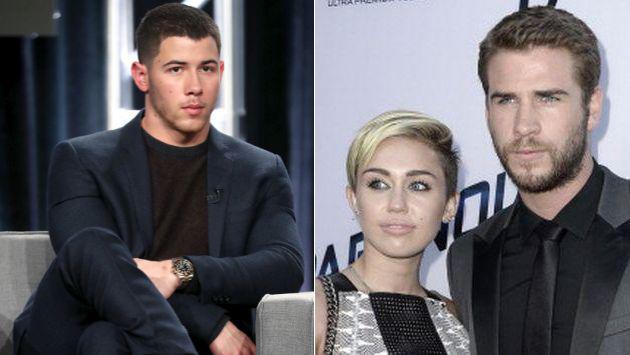 ¿Nick Jonas intenta acabar con la relación de Miley Cyrus y Liam Hemsworth?