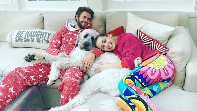 ¡Miley Cyrus y Liam Hemsworth cerraron de esta forma el 2016! [FOTOS]