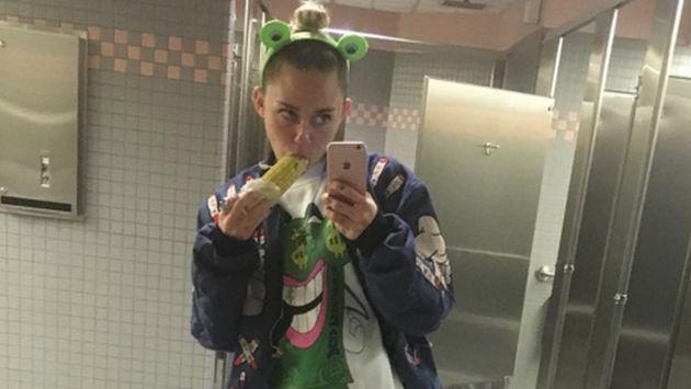 OMG! Miley Cyrus generó alboroto con fotos subidas de tono en Instagram
