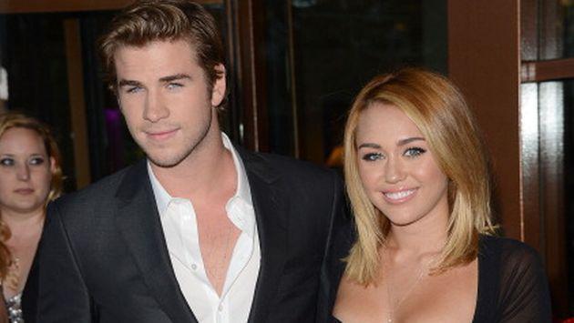 Miley Cyrus no se cansa de demostrar su amor hacia Liam Hemsworth [FOTO]