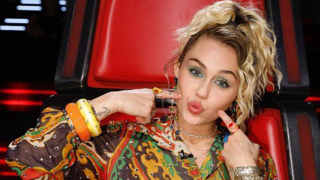 Miley Cyrus contó cómo fue ser 'coach' en The Voice [FOTOS]