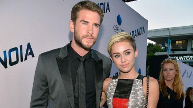 OMG! ¿Esto comprobaría que Miley Cyrus ya se casó con Liam Hemsworth?