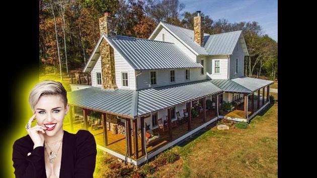 Miley Cyrus acaba de pagar $ 5.8 millones por esta propiedad [FOTOS]