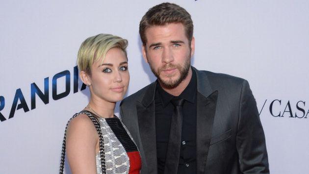 Miley Cyrus y Liam Hemsworth confirmaron así su compromiso [FOTOS]