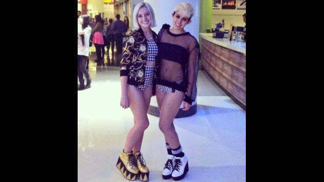 Conoce a la 'gemela' de Miley Cyrus que revoluciona Instagram [GALERÍA]