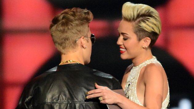 ¿Miley Cyrus quiere ser Justin Bieber? [FOTOS]