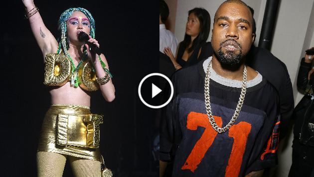 ¡Checa este remix de Miley Cyrus y Kanye West! [AUDIO]