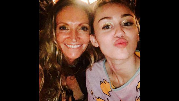 OMG! ¡Miley Cyrus despidió así el 2016! [FOTOS]