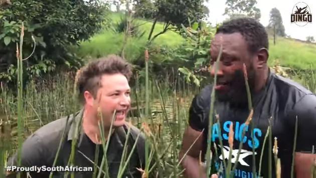 ¡Mira el encuentro de estos hombres con una serpiente pitón! [VIDEO]