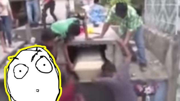 Abrieron una tumba, luego de escuchar ruidos extraños, y se llevaron una gran sorpresa [VIDEO]