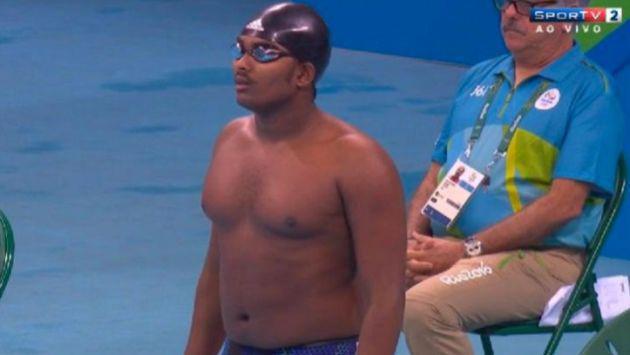 ¡Nadador 'gordito' pasó roche en Río 2016! Y clasificó a las Olimpiadas por esta razón
