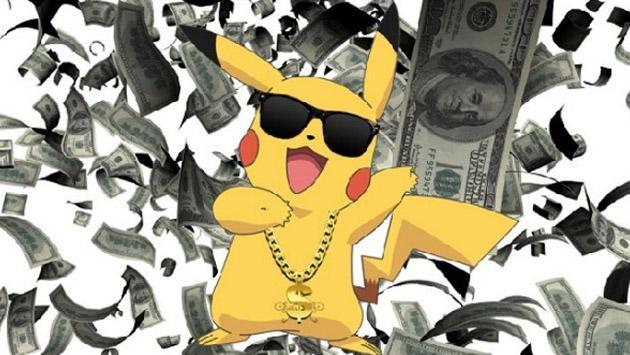 Ni te imaginas cuánto dinero hace 'Pokémon GO' en solo un minuto