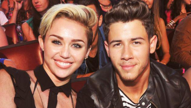 Nick Jonas habló sobre su primer beso con Miley Cyrus