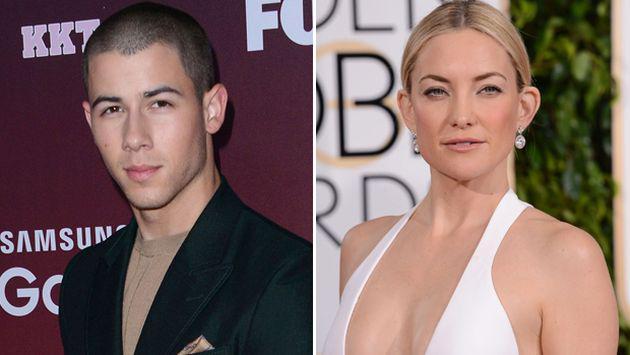 ¡Kate Hudson habló sobre la relación que tiene con Nick Jonas!