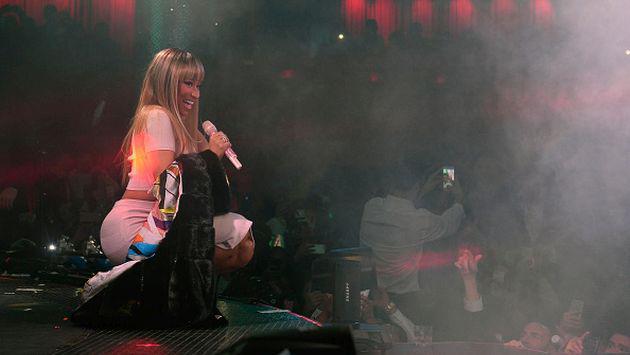 ¡Nicki Minaj quedó sorprendida con fanático! [VIDEOS]