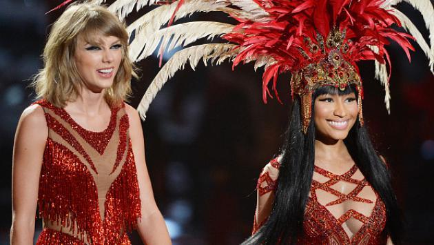 ¿Nicki Minaj humilló a Taylor Swift públicamente de esta forma? [FOTO]