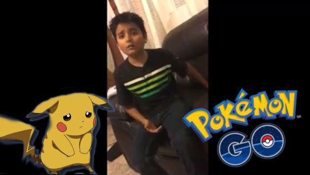 Mira la reacción de este niño al enterarse que le borraron Pokémon GO del celular