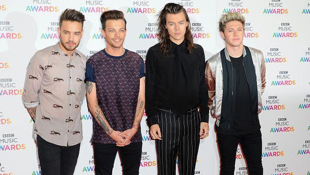 One Direction reaccionó así al ganar en los Brit Awards con 'History' [FOTOS + VIDEOS]