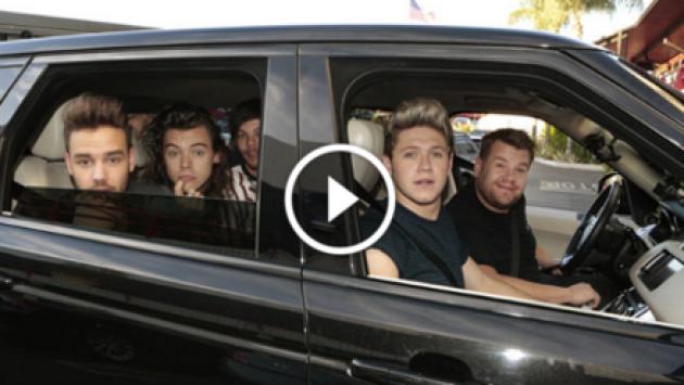 El increíble karaoke de One Direction en 'The Late Late Show'. ¡Chécalo! [VIDEO]