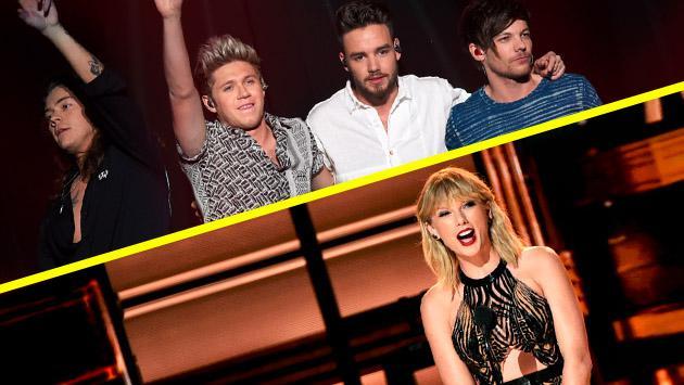 One Direction vs. Taylor Swift: ¿adivinas quién recauda más dinero?