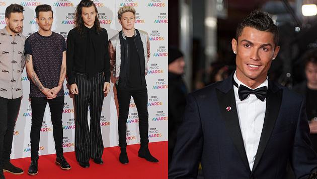 ¿One Direction o Cristiano Ronaldo? Mira quién hace más fortuna, según Forbes