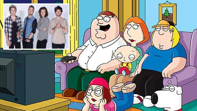 OMG! One Direction aparecerá en 'Family Guy'