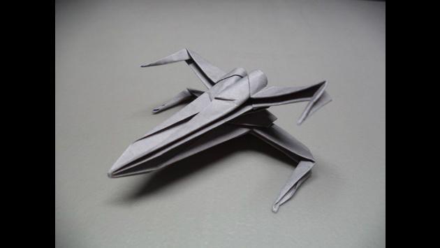 Haz tu propia nave de Star Wars en origami con estos simples pasos [VIDEOS]