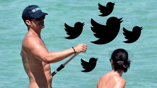 Orlando Bloom y sus fotos desnudo con Katy Perry provocaron estas hilarantes reacciones