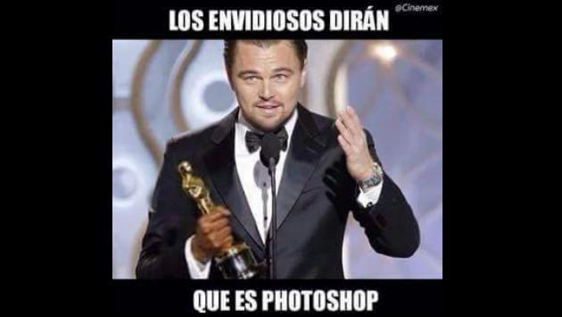 Leonardo Dicaprio Oscar Meme 2016