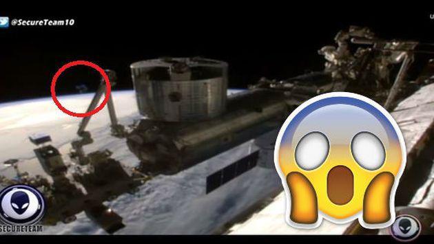 ¿La NASA cortó transmisión por aparición de OVNI? ¡Mira este video!