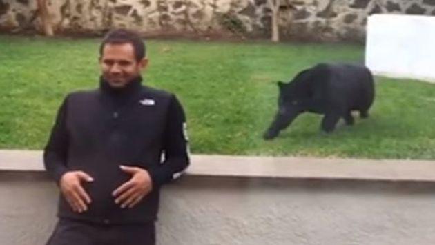 ¡No vas a creer cómo reaccionó este hombre al ser atacado por una pantera! [VIDEO]
