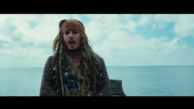 'Piratas del Caribe 5' llega con espectacular trailer [VIDEO]