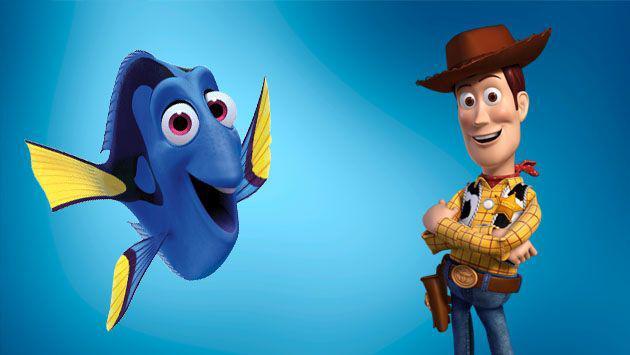 ¡'Woody' y 'Dory' se reunieron en vivo y el resultado es lo máximo! [VIDEO]