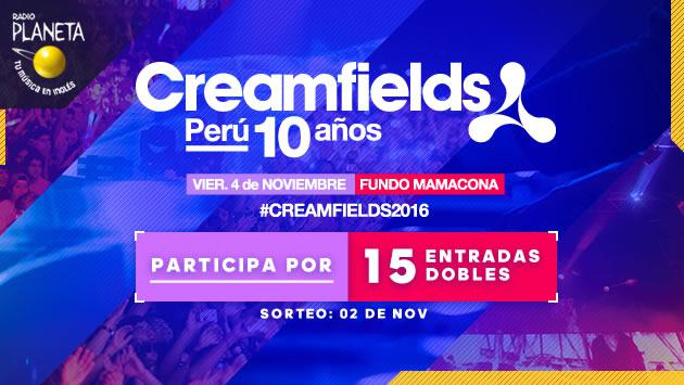 ¡Planeta te lleva al 'Festival Creamfields Perú'!