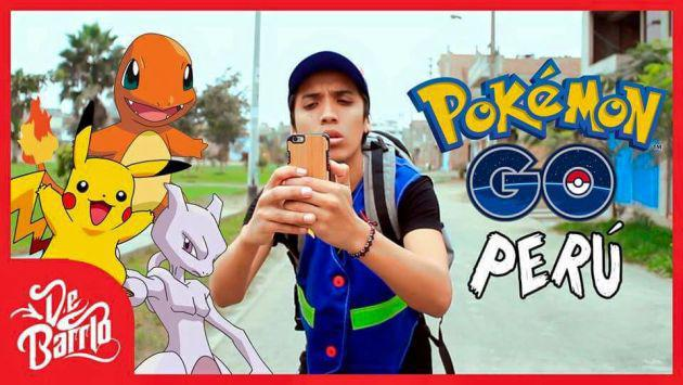 Así se vive la fiebre Pokémon GO en Lima. ¡Vacílate con esta parodia! [VIDEO]