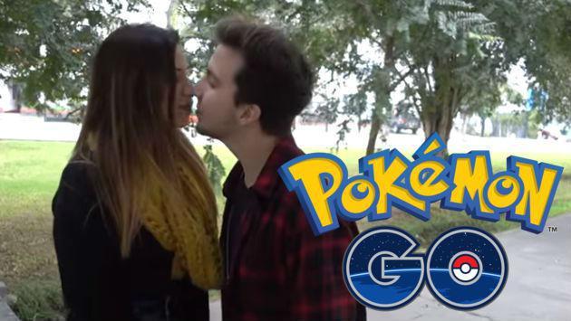 Gracias a Pokémon GO le robó un beso a una chica. ¿Cómo hizo? [VIDEO]