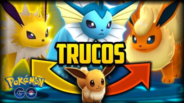 Con este truco de 'Pokémon GO' tendrás a Vaporeon, Jolteon o Flareon