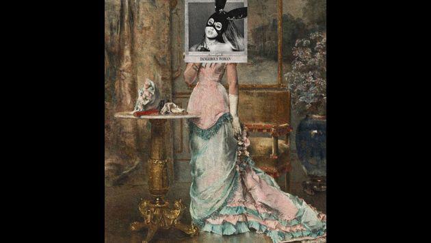 ¡Portadas de One Direction, Justin Bieber y Ariana Grande fueron combinadas con pinturas clásicas! [FOTOS]