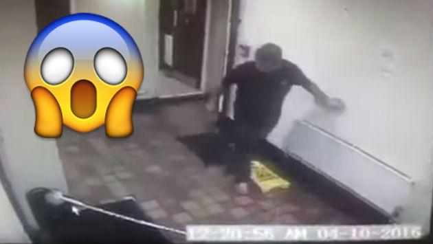 ¿Fantasma asustó a dueños de pub? Mira este escalofriante video
